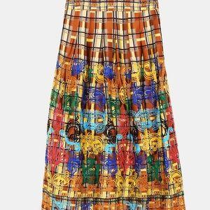 Zara studio embroidered skirt